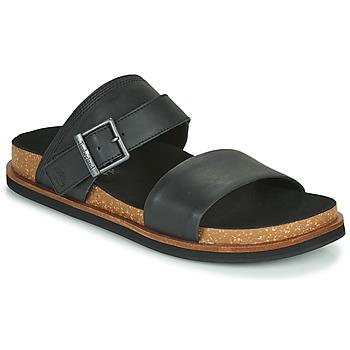 kengät Miehet Sandaalit Timberland AMALFI VIBES 2BAND SANDAL Musta