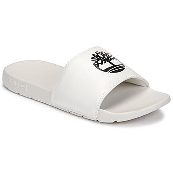 kengät Sandaalit Timberland PLAYA SANDS SPORTS SLIDE White