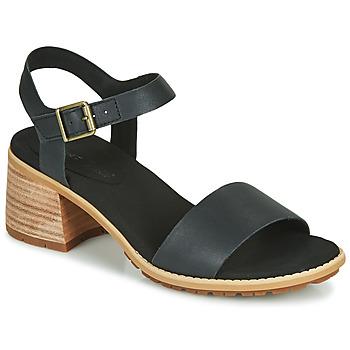 kengät Naiset Sandaalit ja avokkaat Timberland LAGUNA SHORE MID HEEL Musta