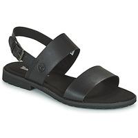 kengät Naiset Sandaalit ja avokkaat Timberland CHICAGO RIVERSIDE 2 BAND Musta