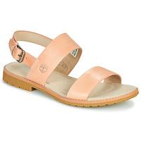 kengät Naiset Sandaalit ja avokkaat Timberland CHICAGO RIVERSIDE 2 BAND Vaaleanpunainen