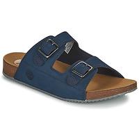 kengät Lapset Sandaalit Timberland CASTLE ISLAND SLIDE Sininen