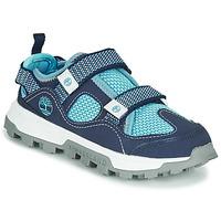 kengät Lapset Sandaalit ja avokkaat Timberland TREELINE FISHERMAN Sininen