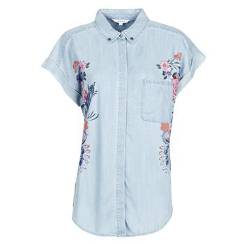 vaatteet Naiset Paitapusero / Kauluspaita Desigual SULLIVAN Sininen