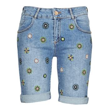 vaatteet Naiset Shortsit / Bermuda-shortsit Desigual GRECIA Sininen