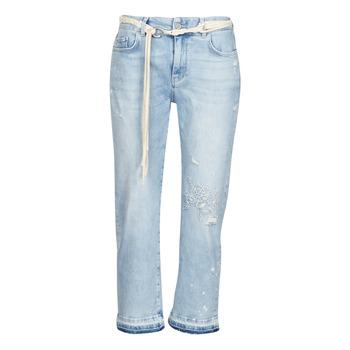 vaatteet Naiset 3/4 & 7/8-pituiset farkut Desigual PONDIO Sininen