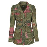 vaatteet Naiset Takit / Bleiserit Desigual CAMOASIS Khaki