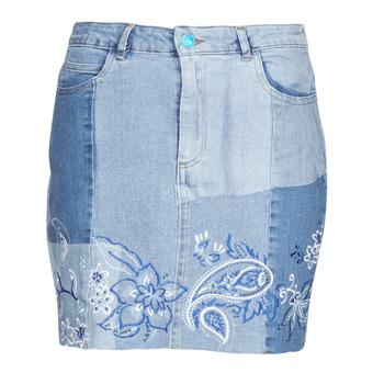 vaatteet Naiset Hame Desigual BE BLUE Sininen