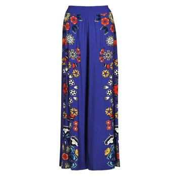 vaatteet Naiset Väljät housut / Haaremihousut Desigual CHIPRE Sininen