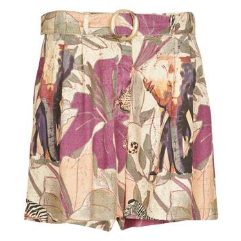 vaatteet Naiset Shortsit / Bermuda-shortsit Desigual ETNICAN Monivärinen