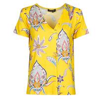 vaatteet Naiset Lyhythihainen t-paita Desigual LEMARK Yellow