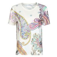 vaatteet Naiset Lyhythihainen t-paita Desigual POPASLEY Valkoinen
