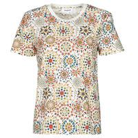 vaatteet Naiset Lyhythihainen t-paita Desigual LYON Valkoinen