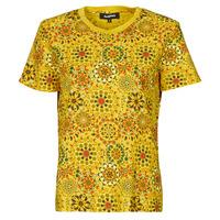 vaatteet Naiset Lyhythihainen t-paita Desigual LYON Yellow
