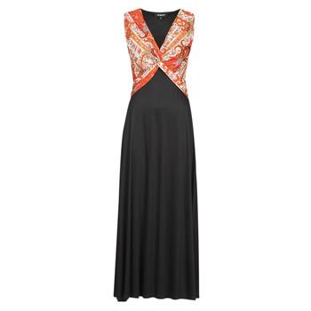 vaatteet Naiset Pitkä mekko Desigual YAKARTA Musta