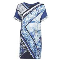 vaatteet Naiset Lyhyt mekko Desigual SOLIMAR Sininen