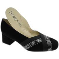 kengät Naiset Korkokengät Calzaturificio Loren LO60902ne nero