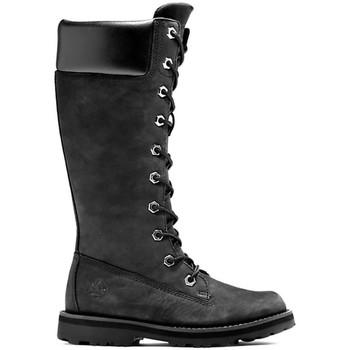 kengät Lapset Saappaat Timberland Courma kid tall zip Musta