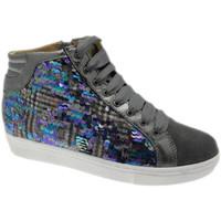 kengät Naiset Korkeavartiset tennarit Calzaturificio Loren LOC3921gr grigio