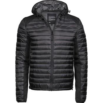 vaatteet Miehet Toppatakki Tee Jays T9610 Black/Black Melange