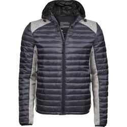 vaatteet Miehet Toppatakki Tee Jays T9610 Space Grey/Grey Melange