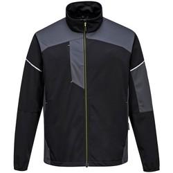 vaatteet Miehet Ulkoilutakki Portwest PW365 Black/Zoom Grey