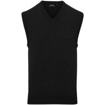 vaatteet Miehet Hihattomat paidat / Hihattomat t-paidat Premier PR699 Black