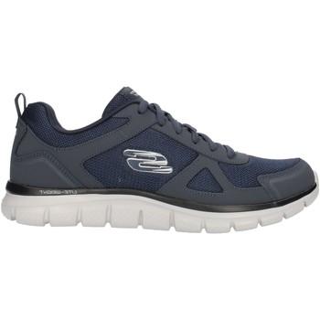 kengät Miehet Matalavartiset tennarit Skechers 52631 Blue