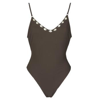 vaatteet Naiset Yksiosainen uimapuku Banana Moon LAUMI Ruskea