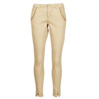 vaatteet Naiset 5-taskuiset housut Cream HOLLY TWILL PANT Beige