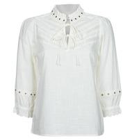 vaatteet Naiset Topit / Puserot Cream NITTY BLOUSE Beige