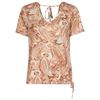 vaatteet Naiset Lyhythihainen t-paita Cream LULLA TSHIRT Monivärinen