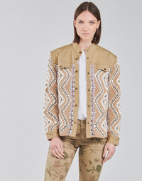 vaatteet Naiset Pusakka Cream SOLDE JACKET Beige