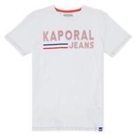 vaatteet Pojat Lyhythihainen t-paita Kaporal EZIO Valkoinen