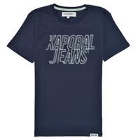 vaatteet Pojat Lyhythihainen t-paita Kaporal MAIL Laivastonsininen