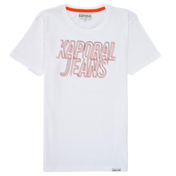 vaatteet Pojat Lyhythihainen t-paita Kaporal MAIL Valkoinen