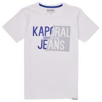 vaatteet Pojat Lyhythihainen t-paita Kaporal MAYO Valkoinen