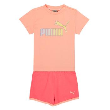 vaatteet Tytöt Kokonaisuus Puma BB SET ABRI Vaaleanpunainen