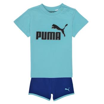vaatteet Pojat Kokonaisuus Puma BB SET ANGEL Sininen