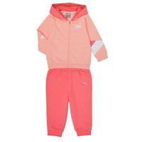vaatteet Tytöt Kokonaisuus Puma BB MINICATS REBEL Vaaleanpunainen / Harmaa