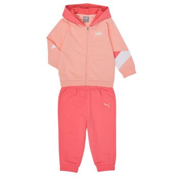 vaatteet Tytöt Kokonaisuus Puma BB MINICATS REBEL Pink / Grey