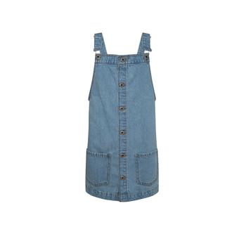 vaatteet Tytöt Lyhyt mekko Pepe jeans CHICAGO PINAFORE Sininen