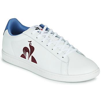 kengät Miehet Matalavartiset tennarit Le Coq Sportif MASTER COURT White / Blue