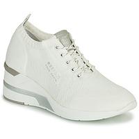 kengät Naiset Korkeavartiset tennarit Mustang THALIA Valkoinen