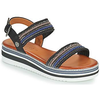 kengät Naiset Sandaalit ja avokkaat Mustang NORMA Musta