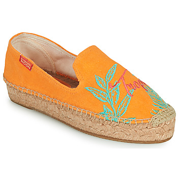 kengät Naiset Espadrillot Banana Moon VERAO Oranssi
