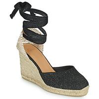 kengät Naiset Sandaalit ja avokkaat Castaner CARINA Musta / Kulta
