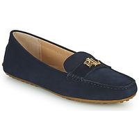 kengät Naiset Mokkasiinit Lauren Ralph Lauren BARNSBURY FLATS CASUAL Laivastonsininen