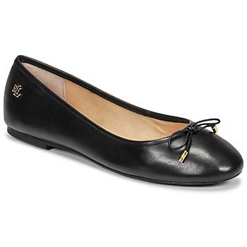 kengät Naiset Balleriinat Lauren Ralph Lauren JAYNA Musta