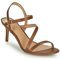 kengät Naiset Sandaalit ja avokkaat Lauren Ralph Lauren LANDYN Cognac